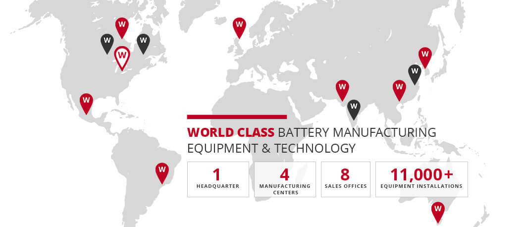 Battery Manufacturing Equipment Supplier - Wirtz Manufacturing